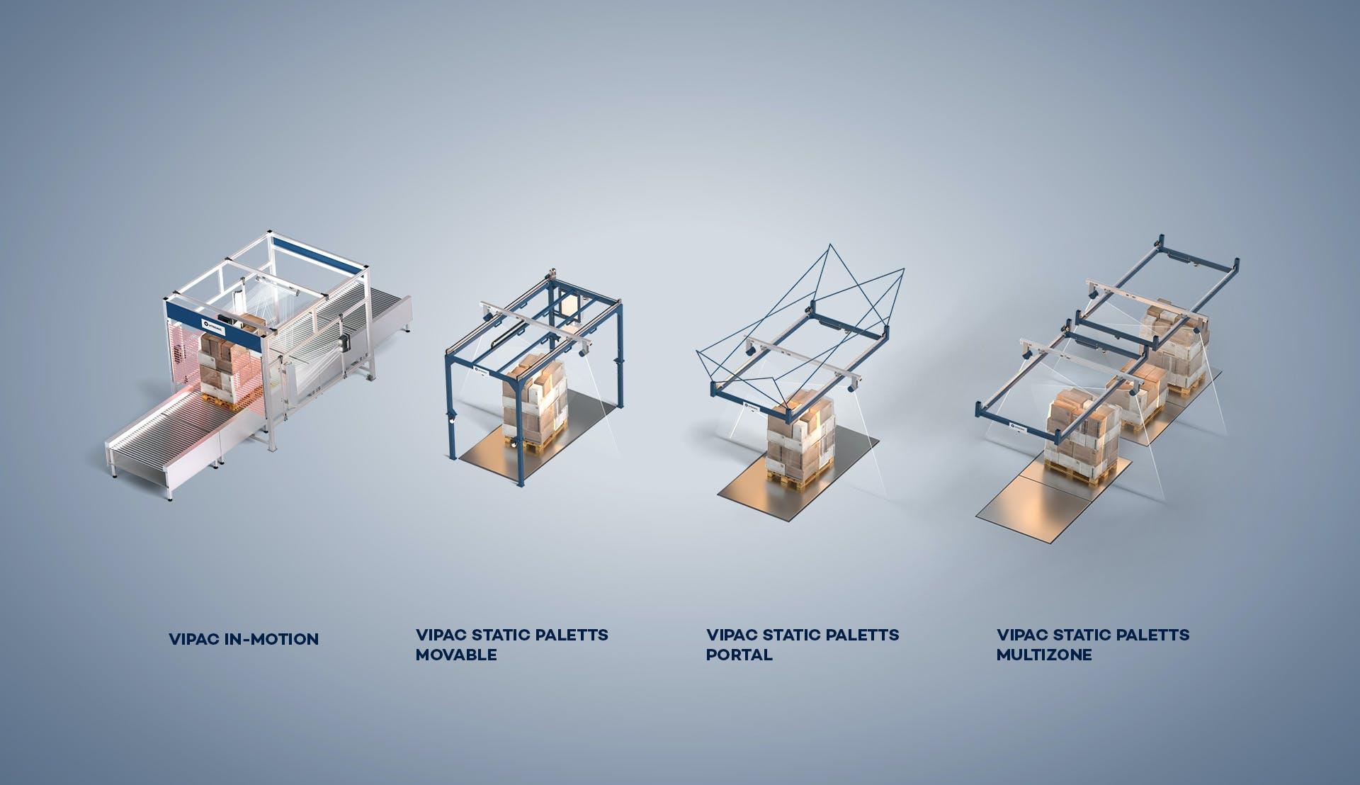 Gamme de systèmes VIPAC