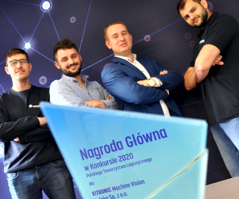 VITRONIC zdobył główną nagrodę Polskiego Towarzystwa  Logistycznego 2020