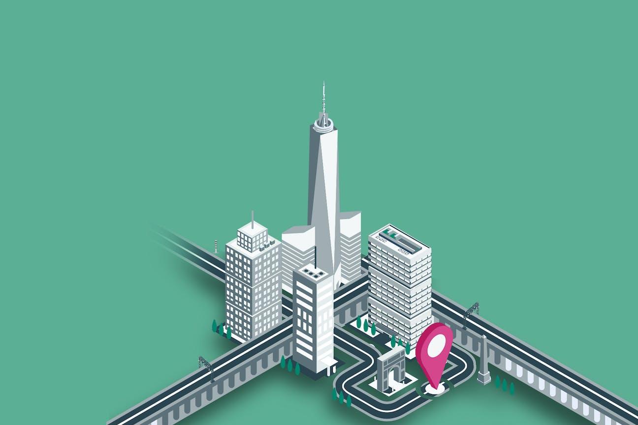 City-Maut für die moderne Stadt der Zukunft