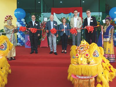 VITRONIC eröffnet neue Niederlassung in Penang, Malaysia