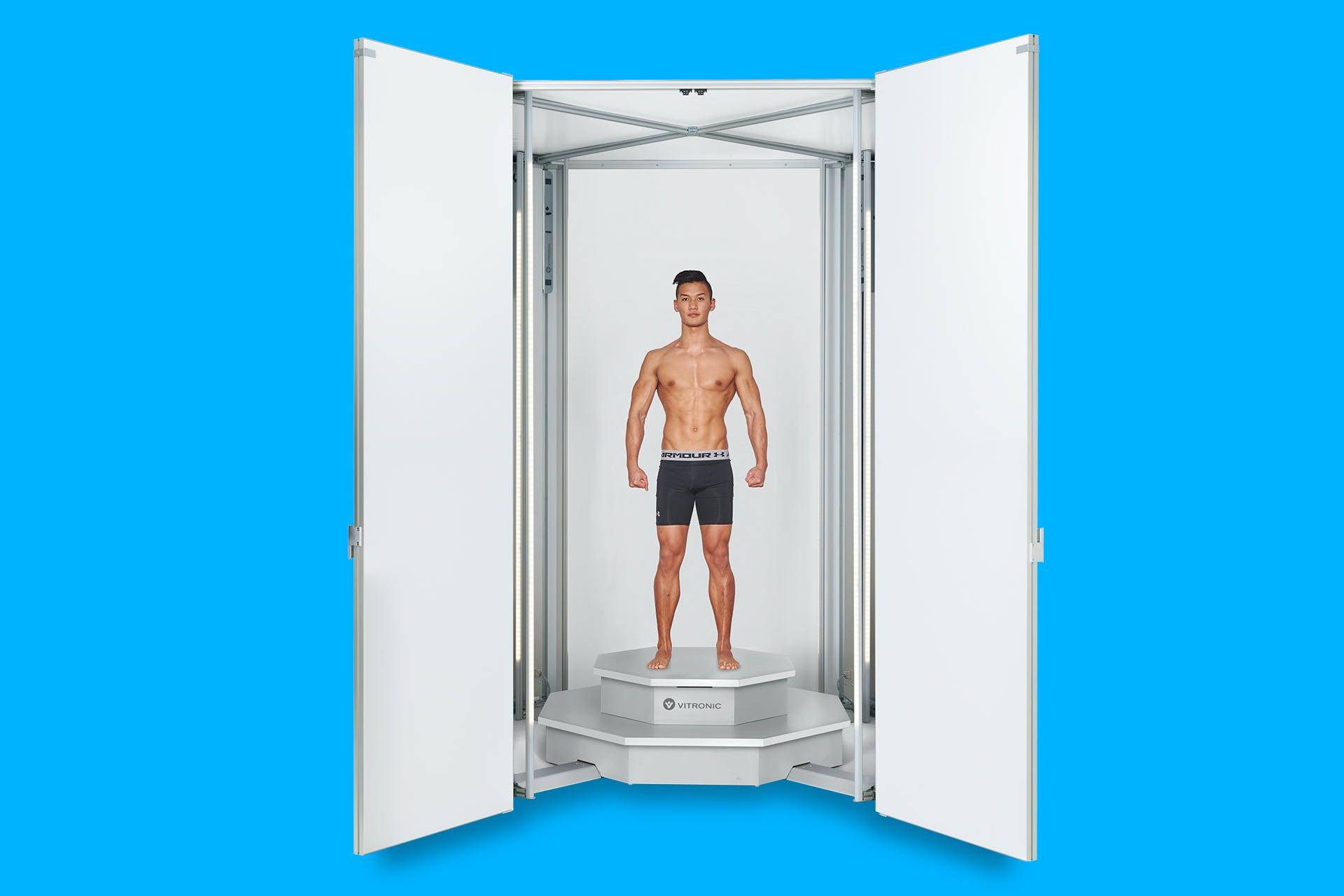 3D Bodyscanner für medizinische Anwendungen.