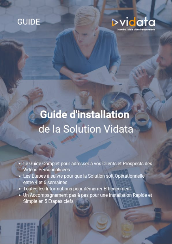 Guide d'Installation de la Solution Vidata