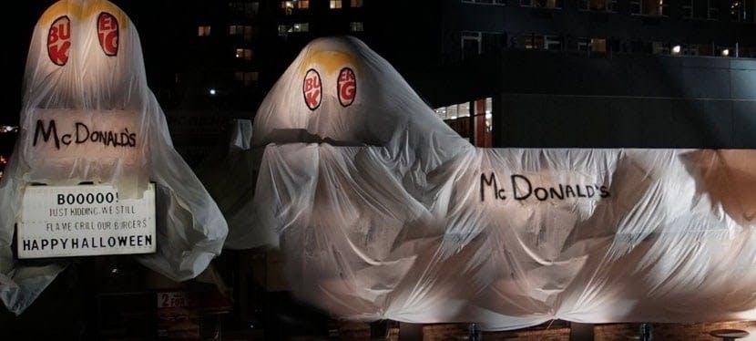 guerrilla marketing burger king notte di halloween