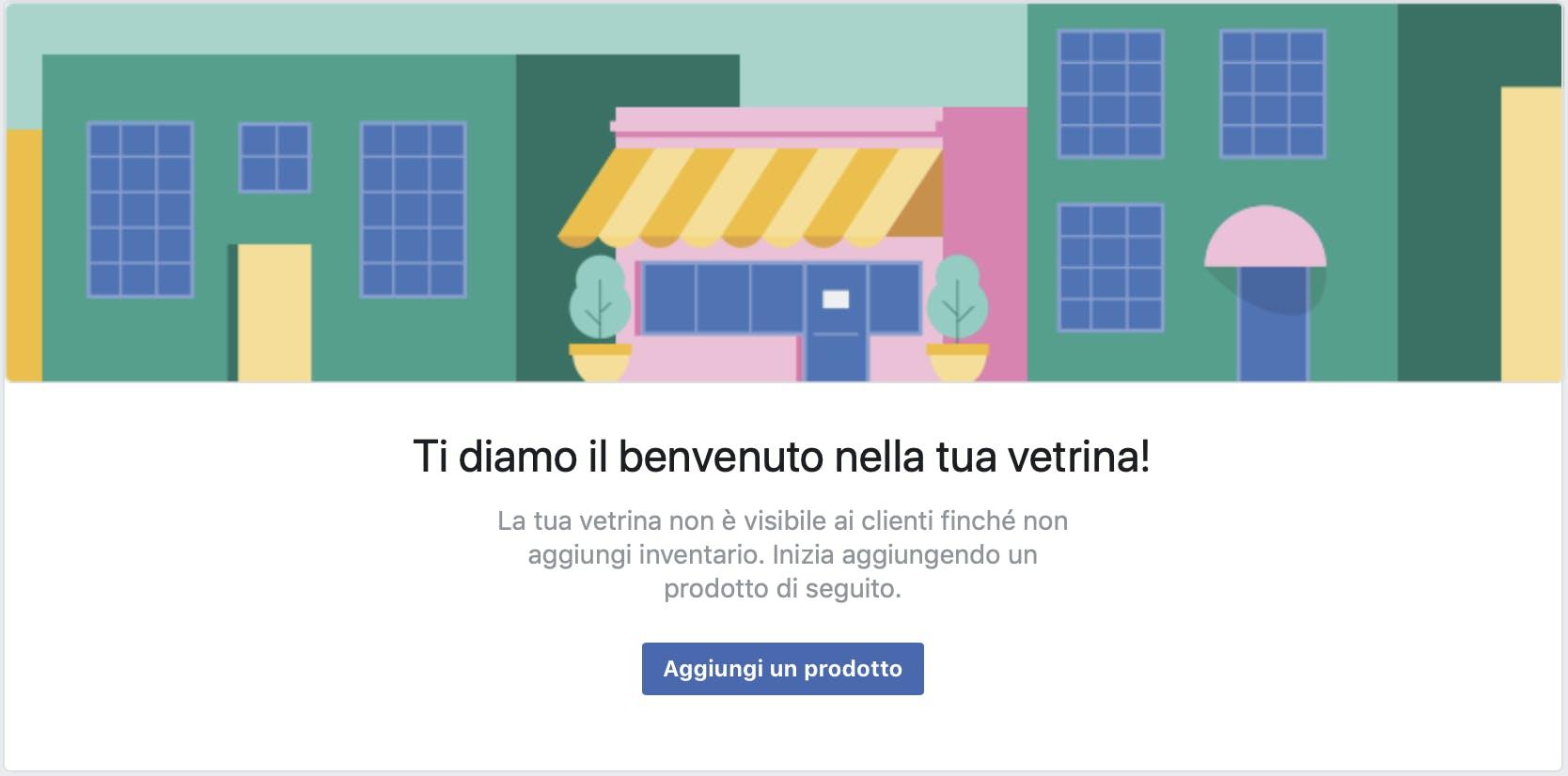 tutorial aggiungi prodotti nella vetrina facebook