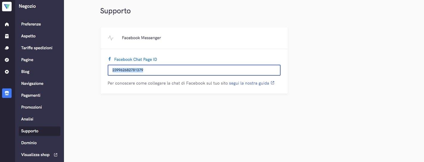 come collegare facebook messenger chat al tuo ecommerce vidra