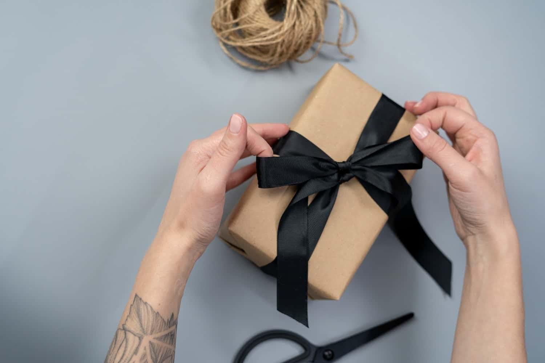 vendita online preparazione del pacco e confezione