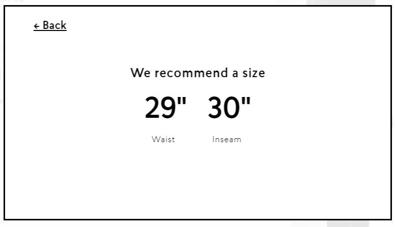 esempio di personalizzazione ecommerce simile a esperienza in negozio