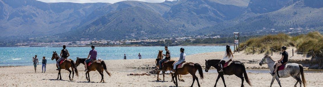 Horse Riding on Alcudia Beach