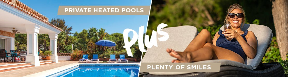Villas with Pool Heating