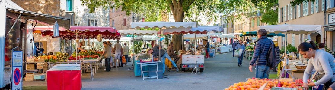 Market-St-Cezaire-sur-Siagne-France