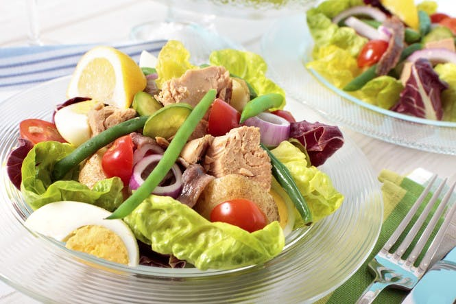 <p>Niçoise Salad</p> -  French Riviera