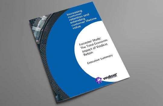 The total economic impact of Vindicia Retain   Executive Summary
