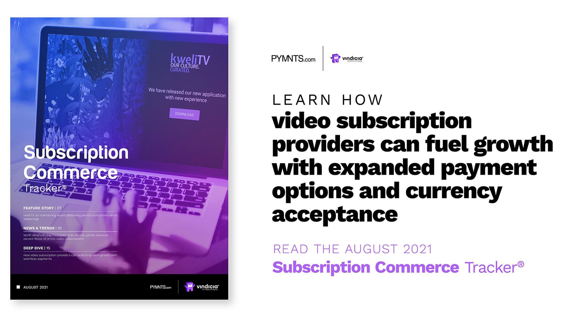 The August Subscription Commerce Tracker®