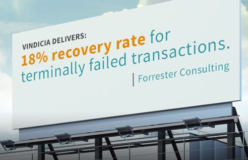 New Total Economic Impact Study Shows that Vindicia Select Consistently Recovers Failed Payment Transactions and Extends Customer Relationships
