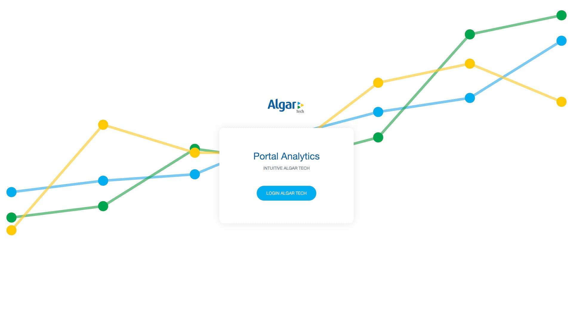 Algar Portal Analytics
