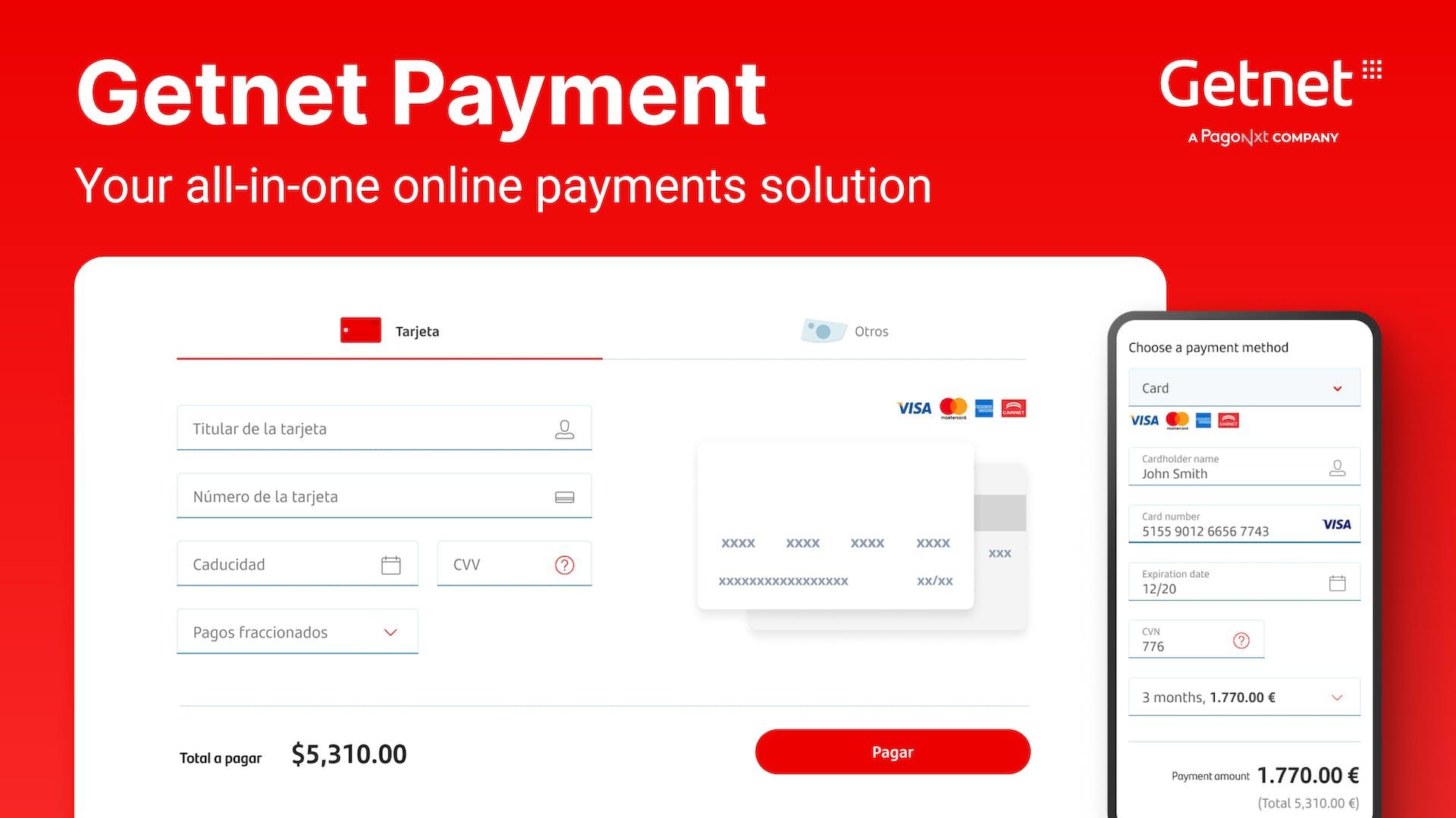 Getnet global payment