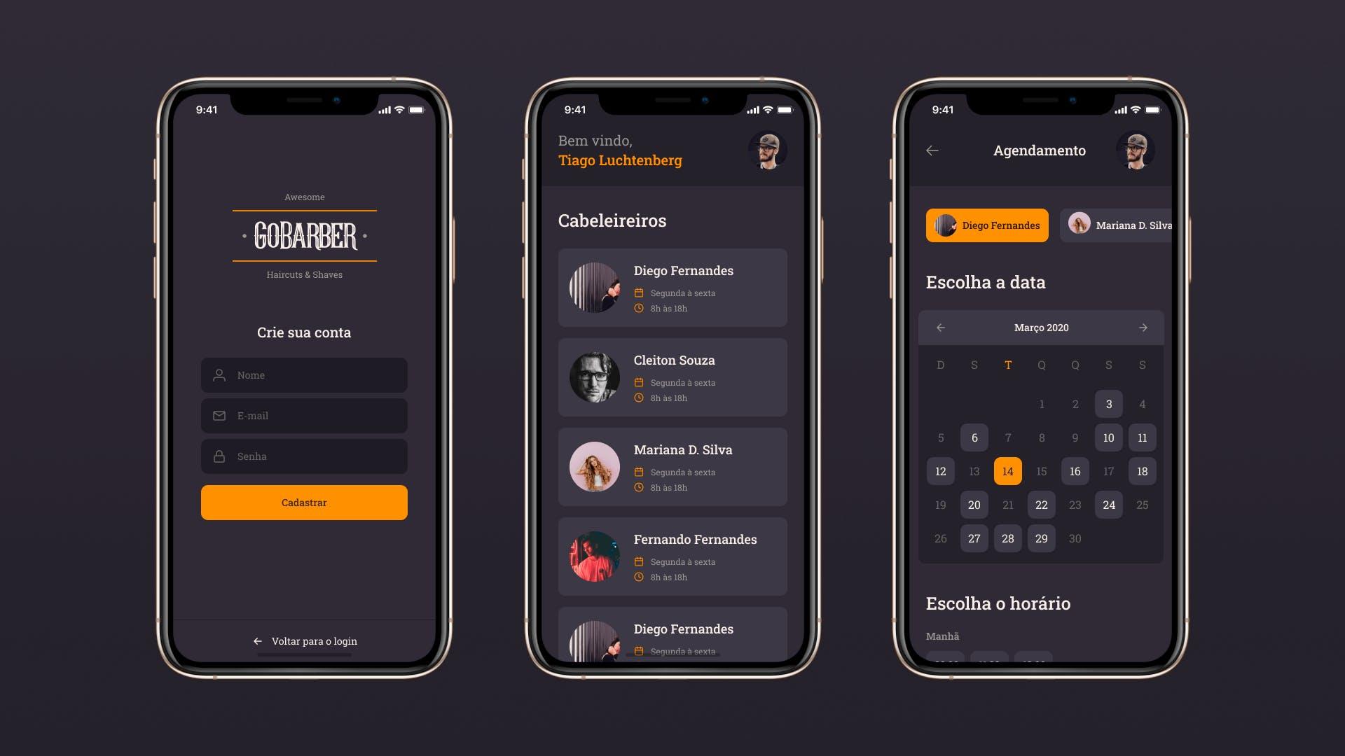 GoBarber App