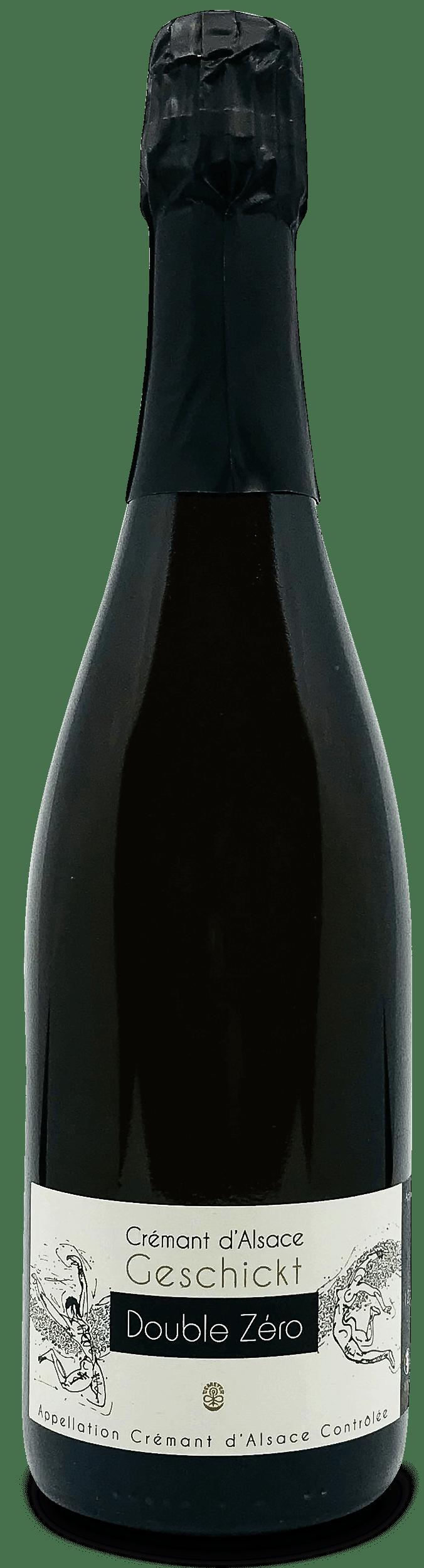 Cremant d'Alsace Double Zero - Vinsupernaturel