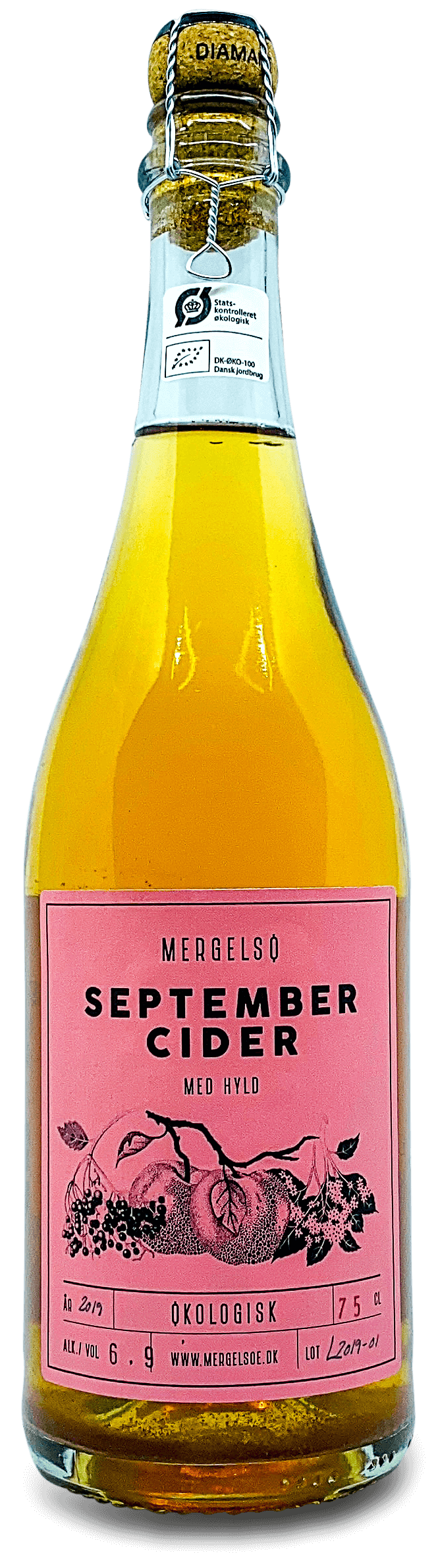 September Cider med Hyld - Vinsupernaturel