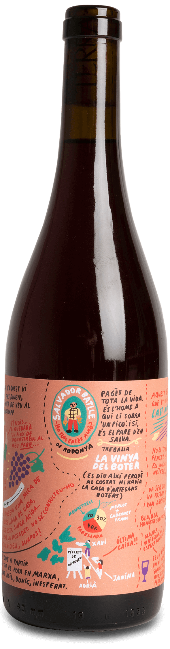 La Vinya del Boter - Vinsupernaturel