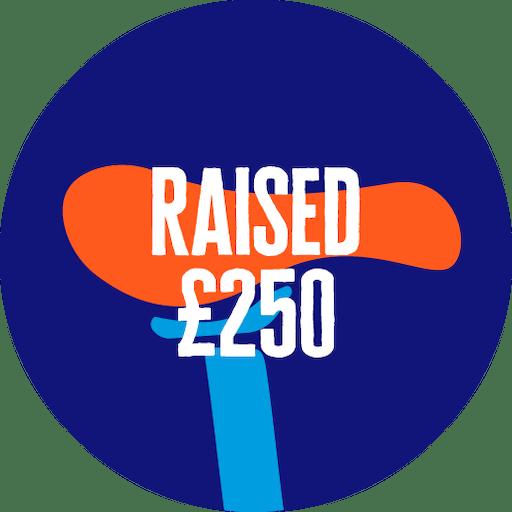 Raise £250