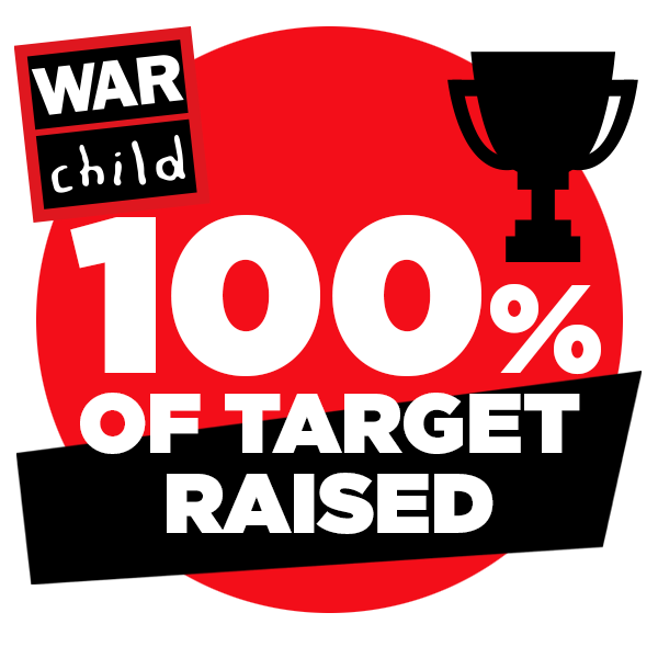 100% of target raised