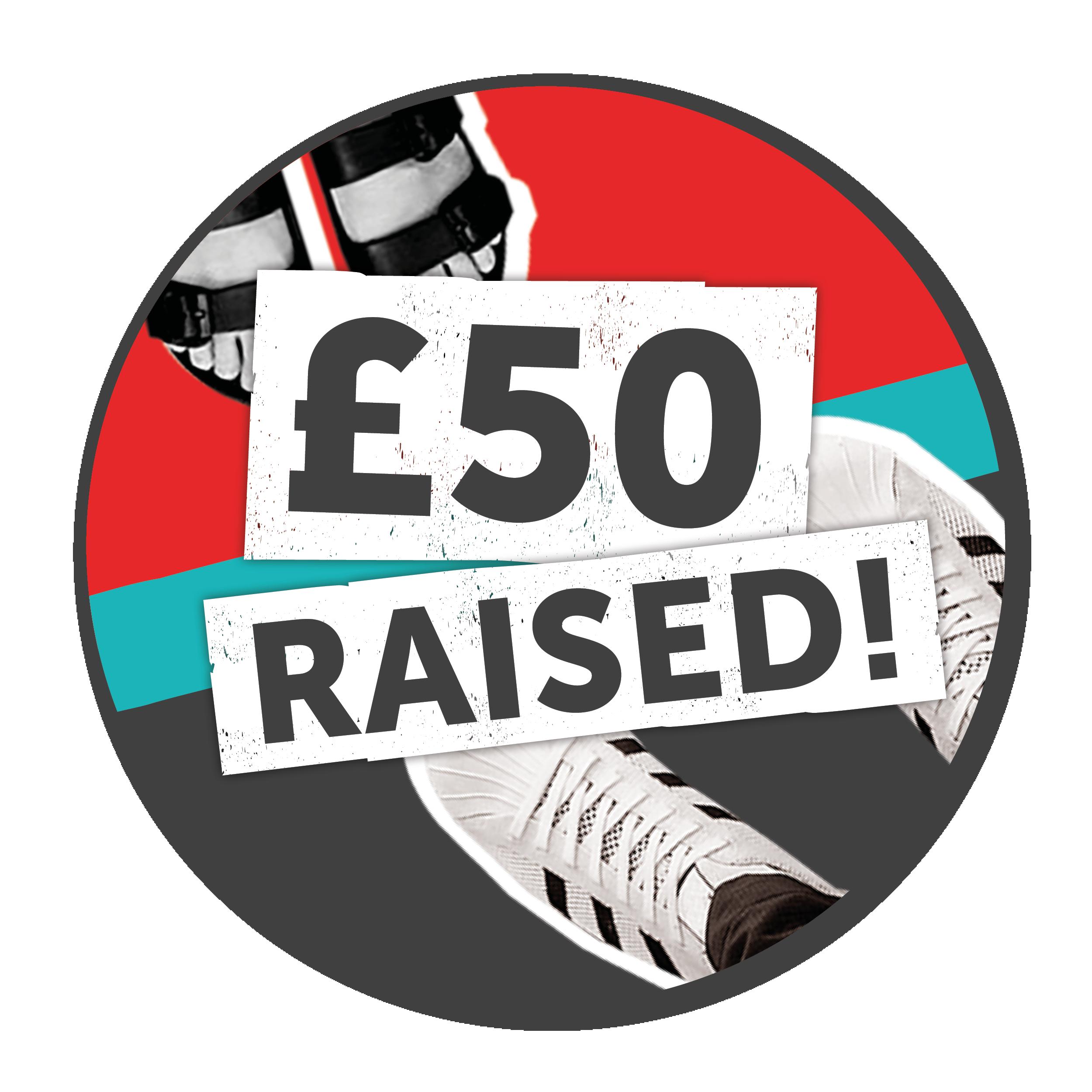 £50 raised!