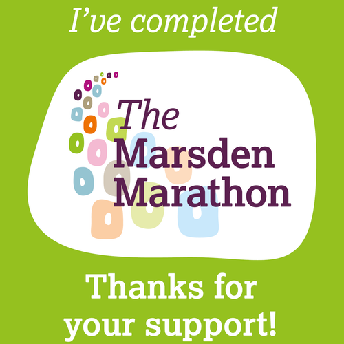 I've completed Marsden March IG story