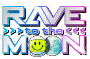 Rave to the moon logo