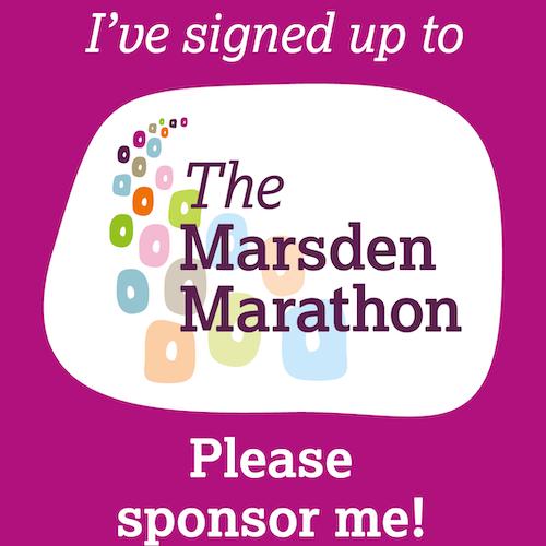 I've signed up for Marsden Marathon IG story