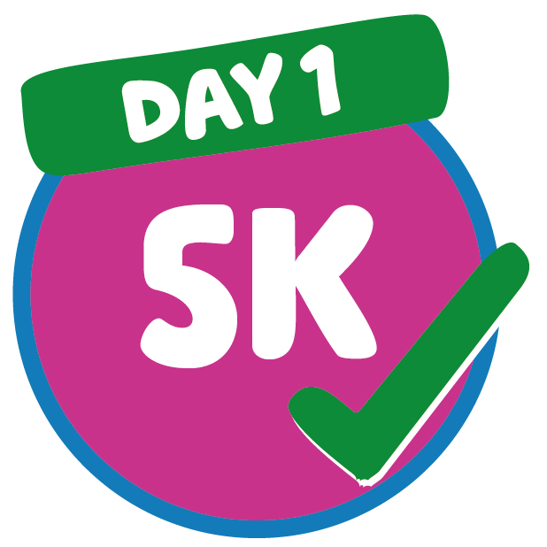 5km completed