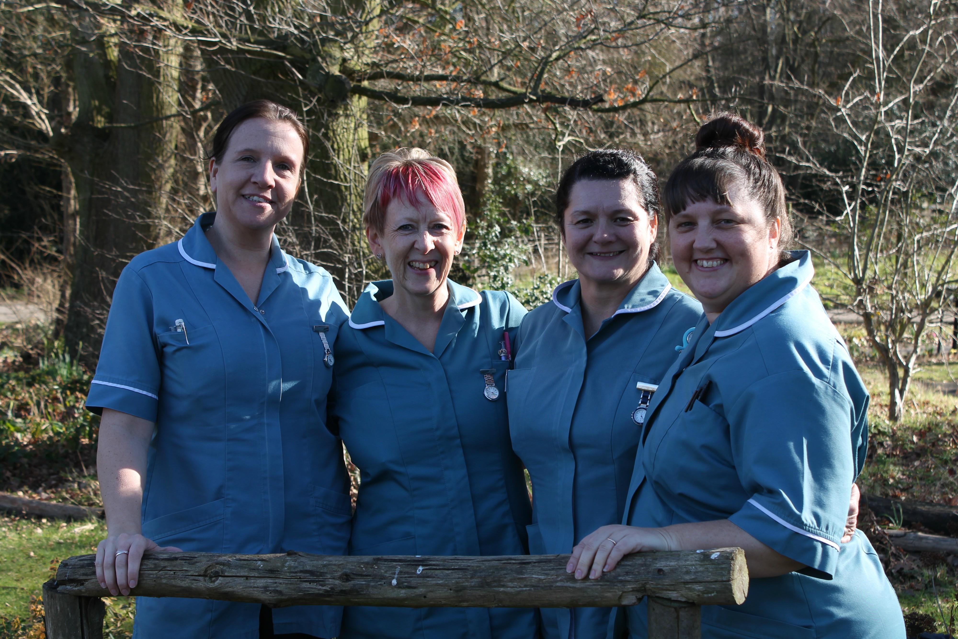Havens Hospices - Lisa, Toni, Lorraine, Lorraine Nurse