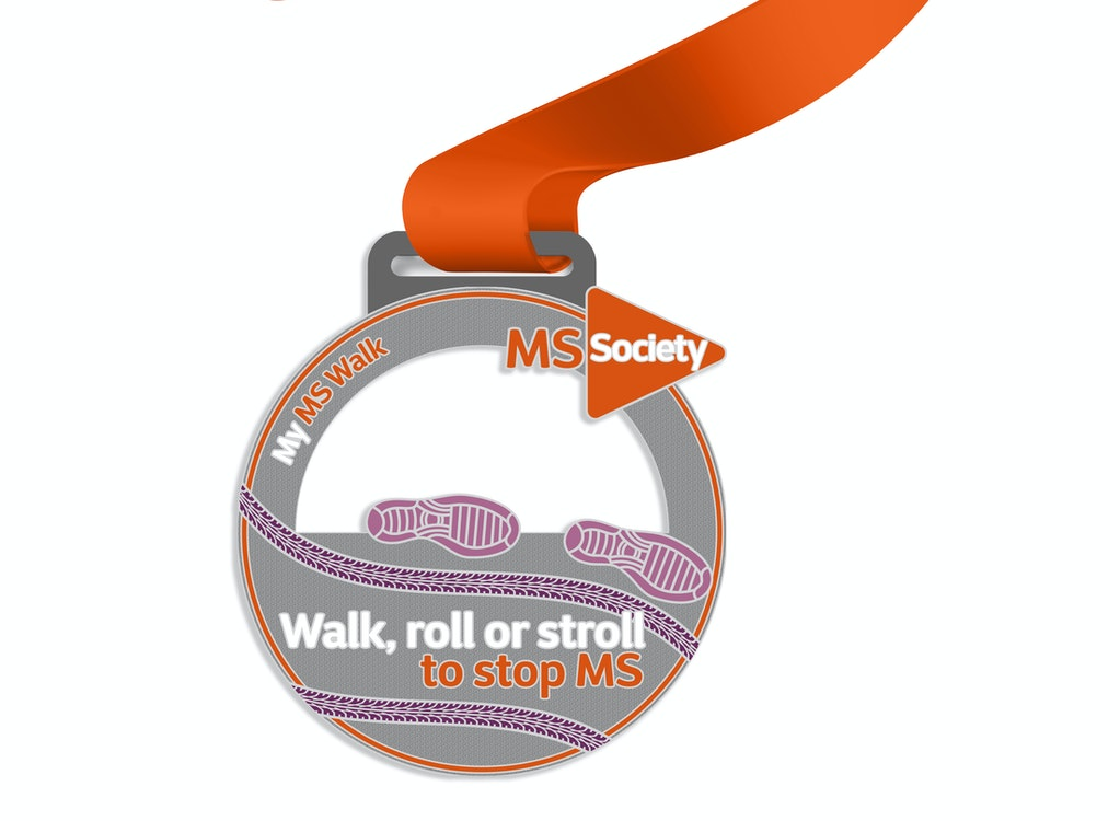 My MS Walk medal