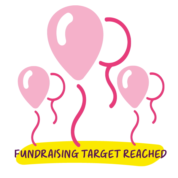 Fundraising Target reached