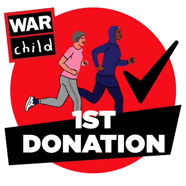 Your first donation