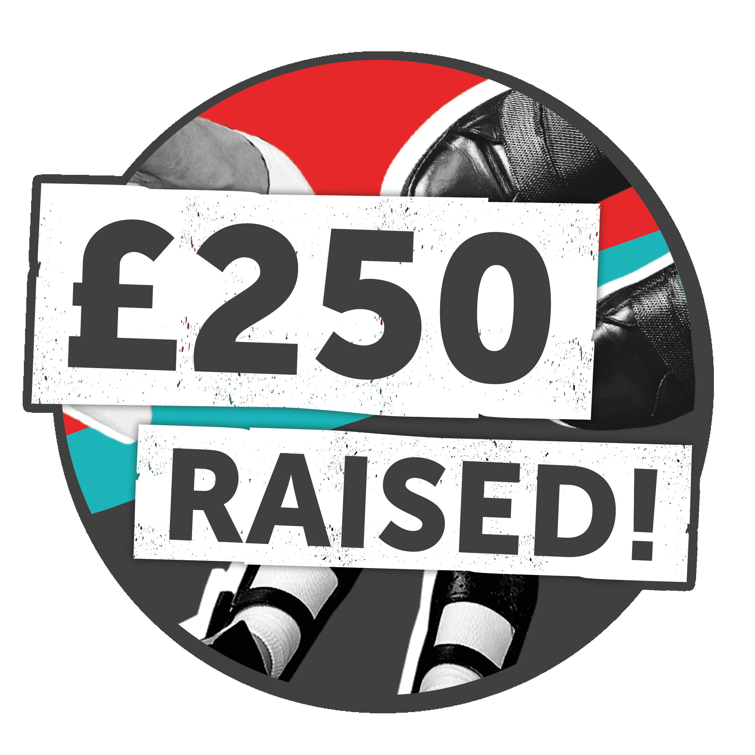 £250 raised!