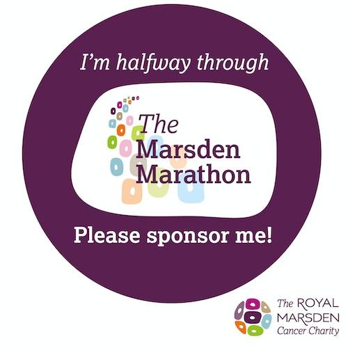 I'm halfway through Marsden Marathon social badge