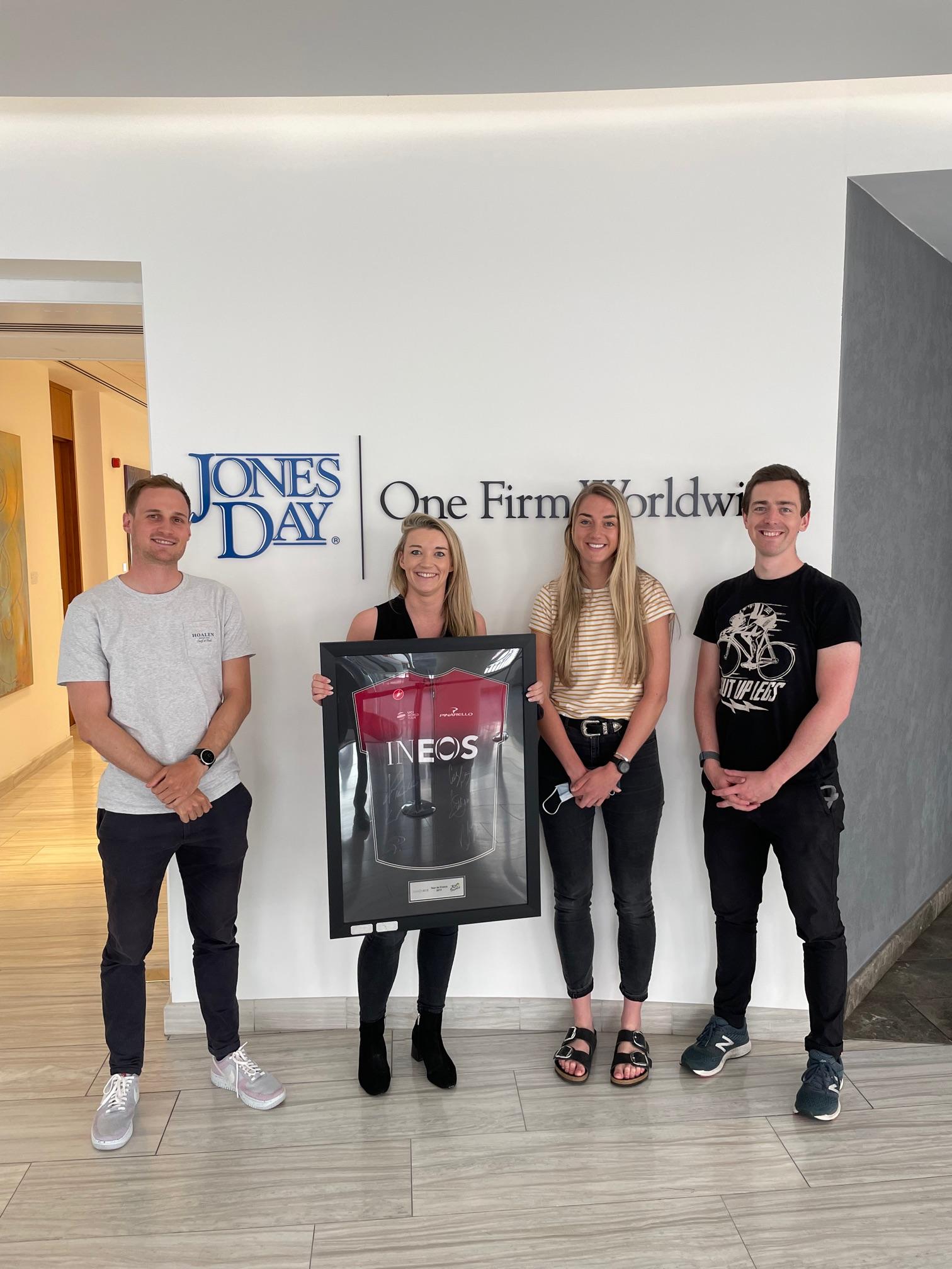 Image of jones day winners