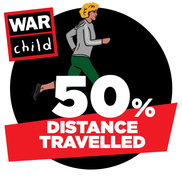 50% of distance travelled