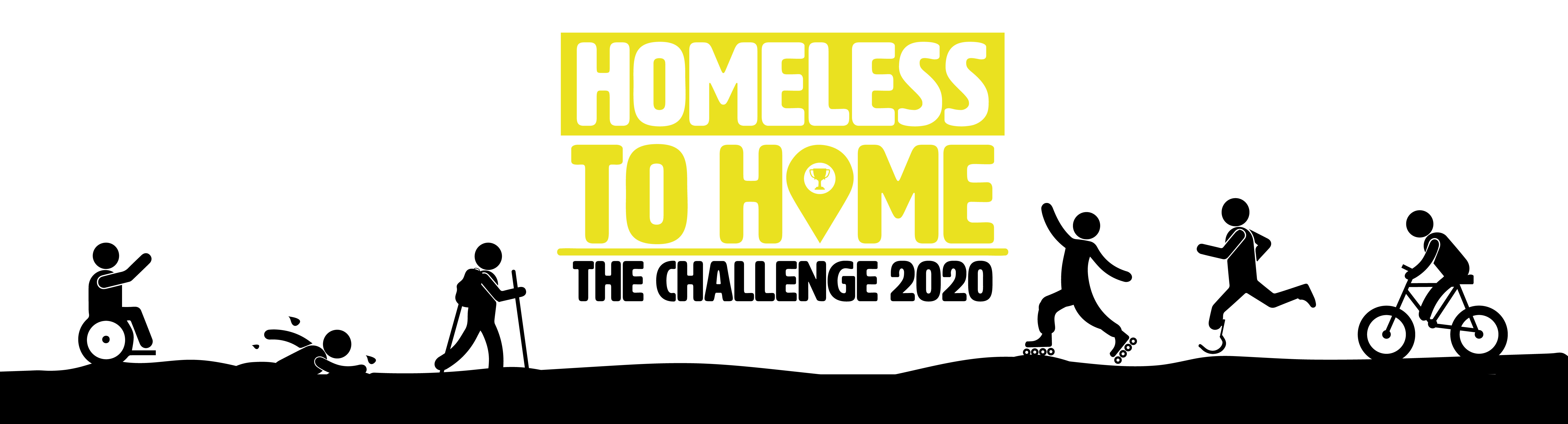 Homeless to Home Challenge banner