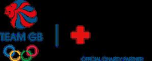 Team GB logo next to the British Red Cross logo