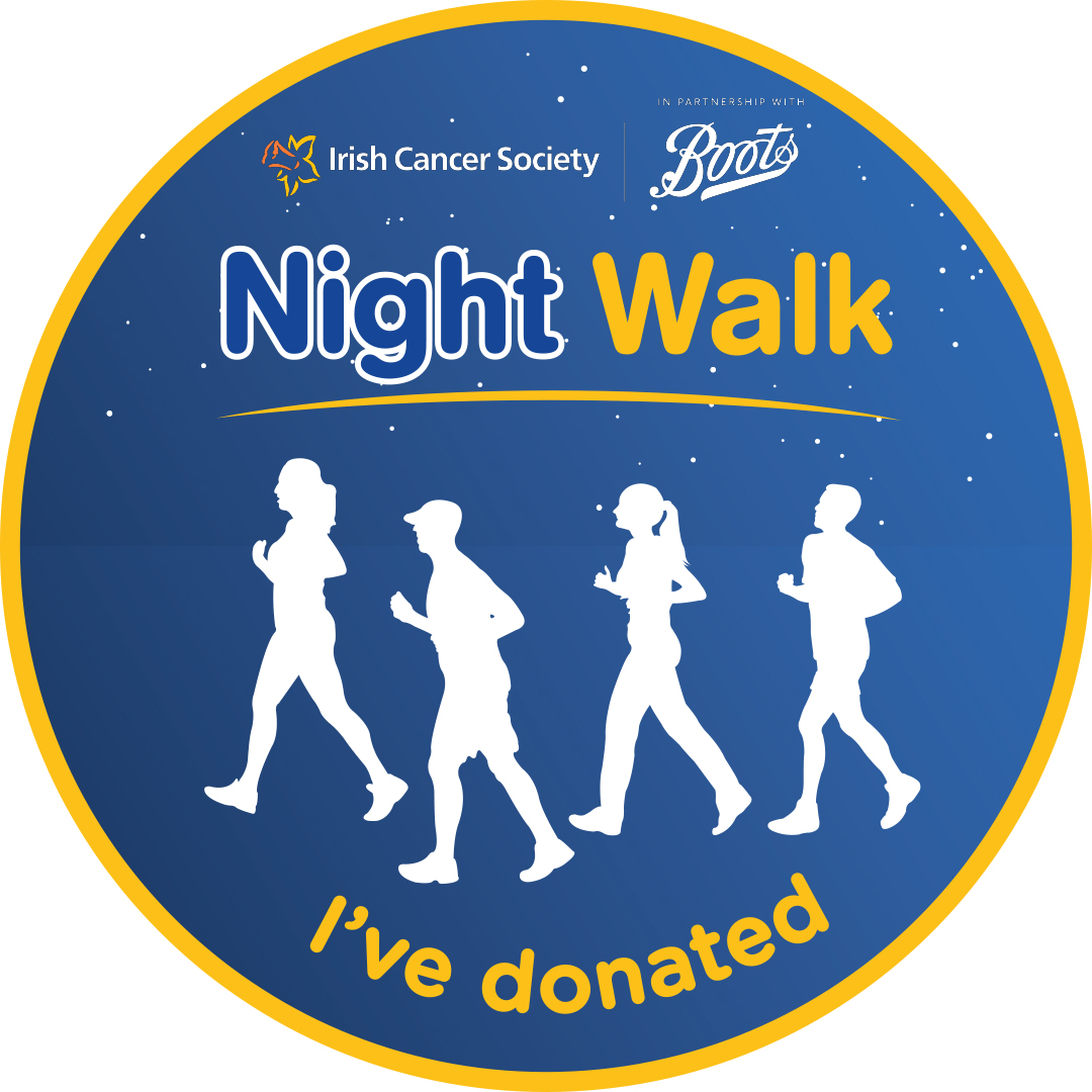 Boots Night Walk Donation Medal Image