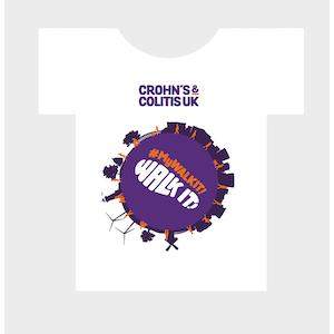 Crohn's & Colitis t-shirt design