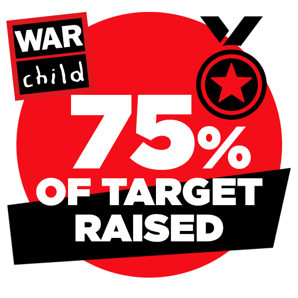 75% of target raised