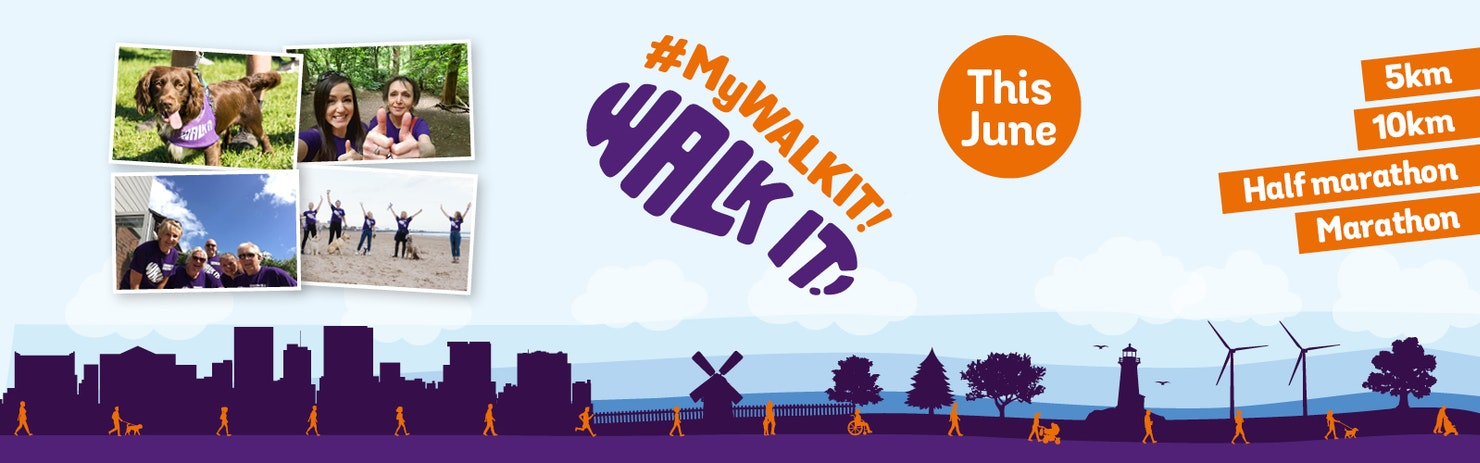 #MyWalkIt - This June - header banner