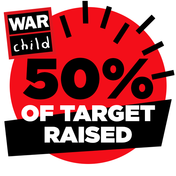 50% of target raised