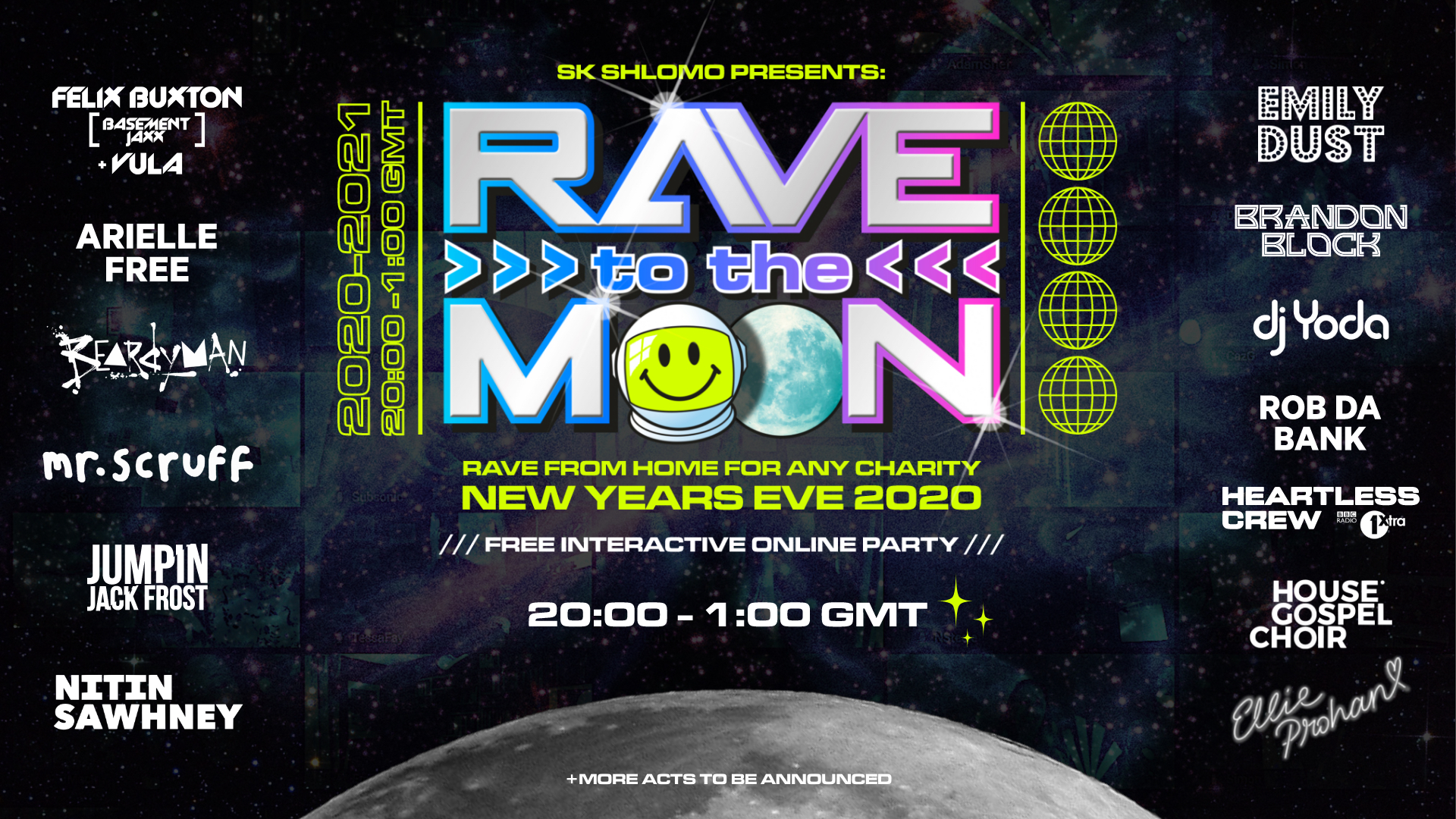 Rave to the Moon