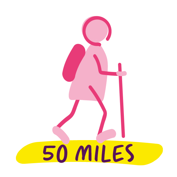 50 miles complete
