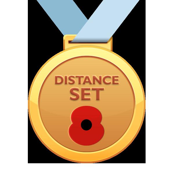 Distance Set Badge