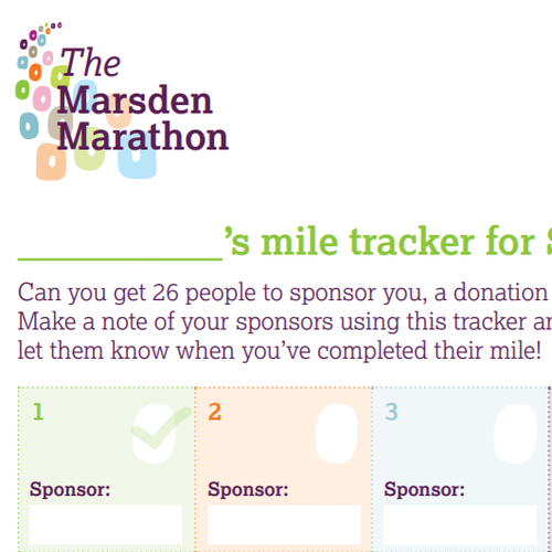 Miles tracker image snippet